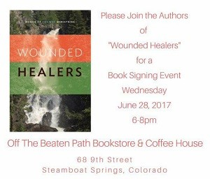 Wounded Healers book signing small