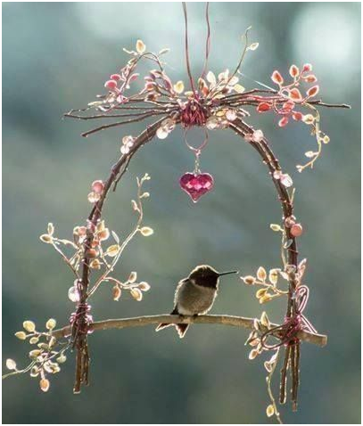 Hummingbird Swing For Home And Hearth Blog