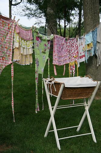 Clothesline And Apron