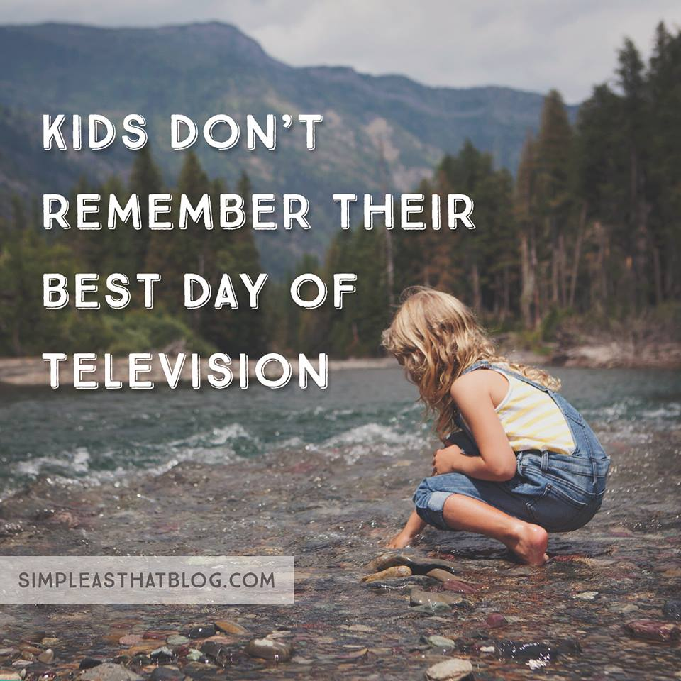 Kids Dont Remember Their Best Day Of Television