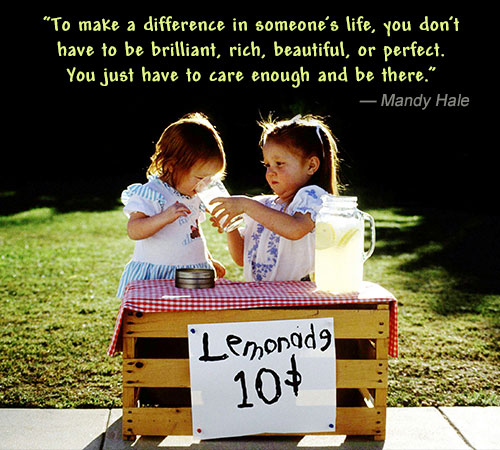 Make A Difference Mandy Hale Quote
