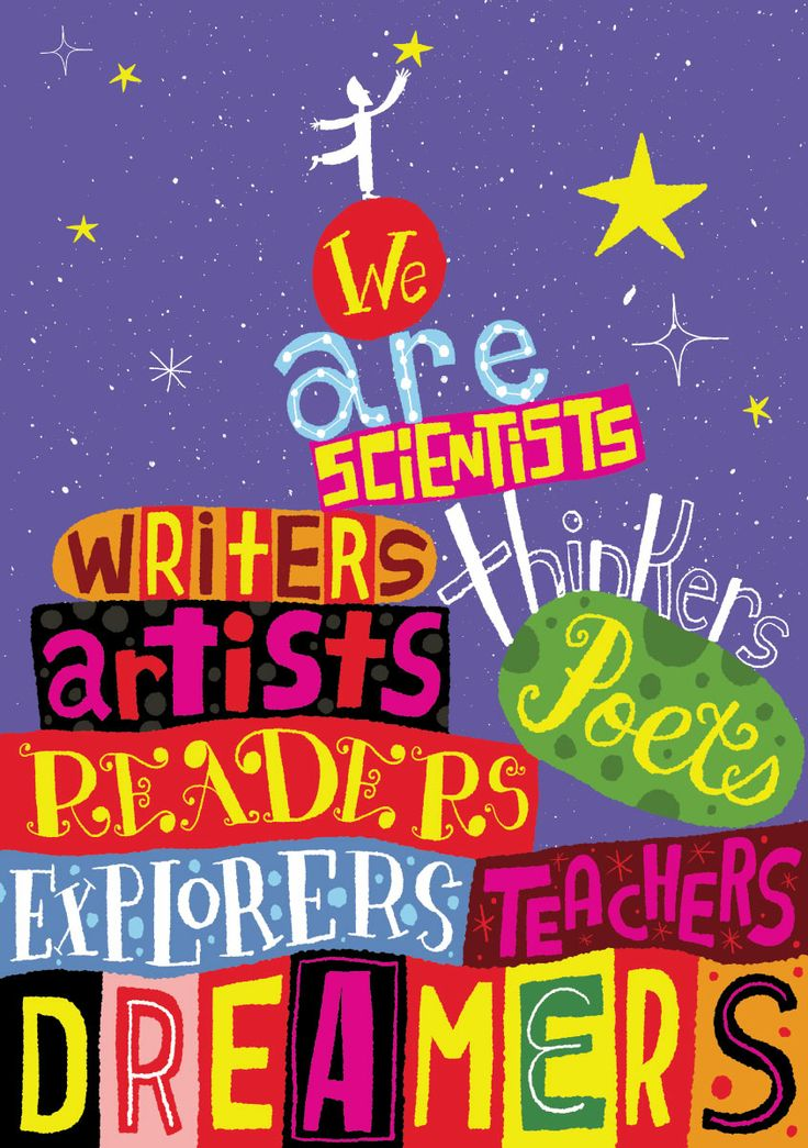 We Are Scientists Explorers Dreamers
