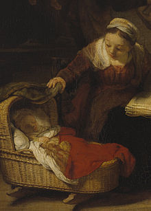 Rembrandt Baby Jesus And Mary