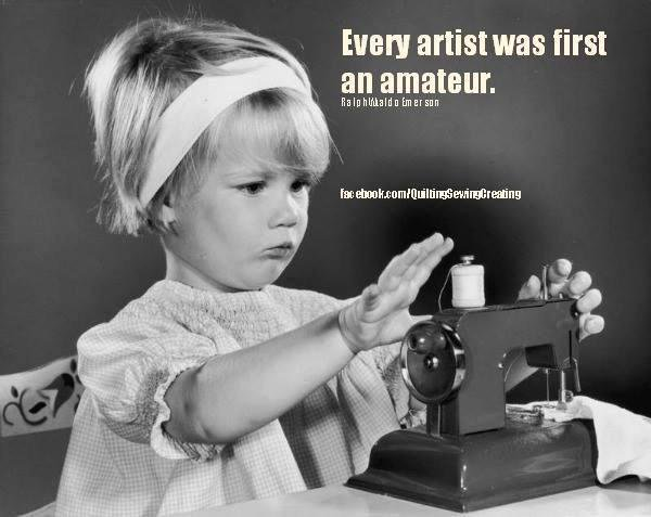 Every Artist Was First An Amateur