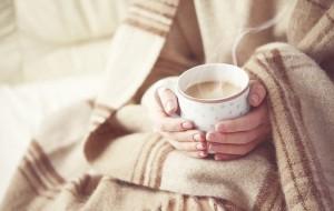 Tea and blanket