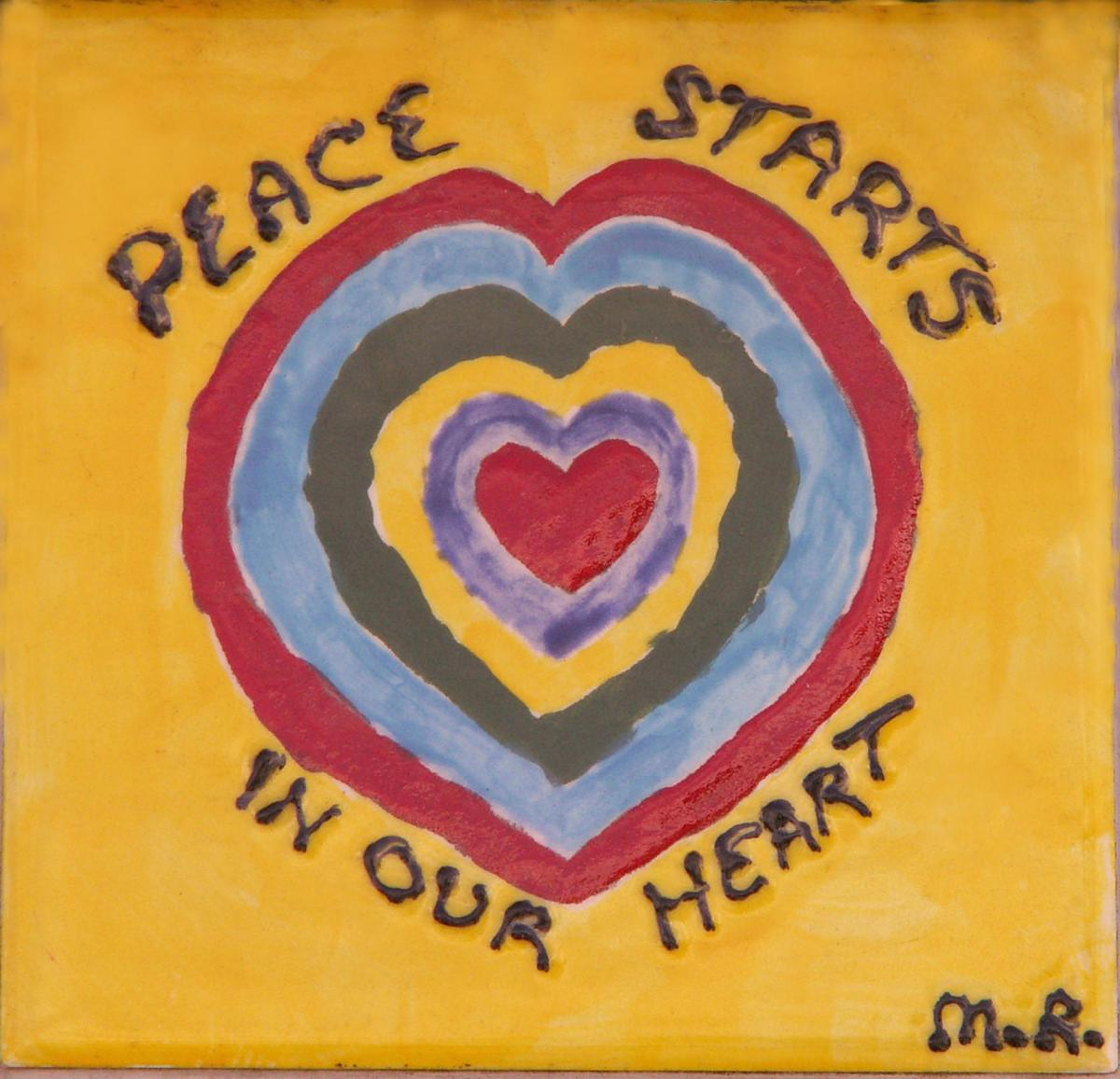 Peace Starts In Heart
