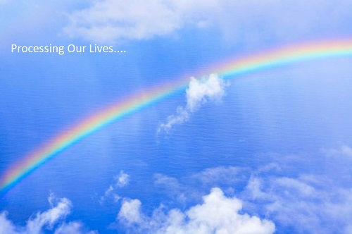 Processing Our Lives Rainbow