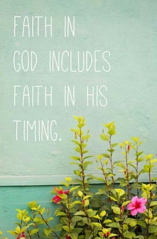 Faith In Timing Re Call To Liliodendron & Visit.