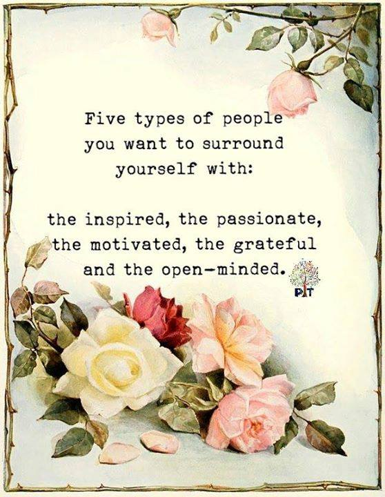 People To Surround Yourself With